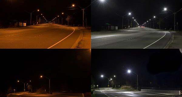 سلامت چراغ خیابانی LED ال ای دی