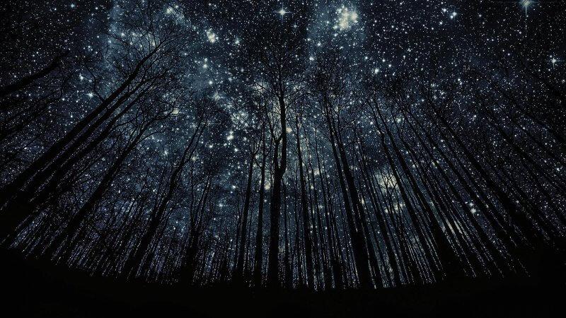 آسمان بدون آلودگی نور